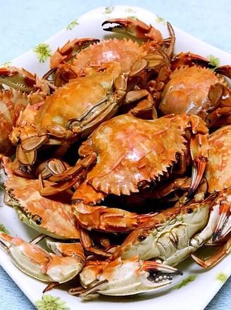 清蒸花盖蟹的做法
