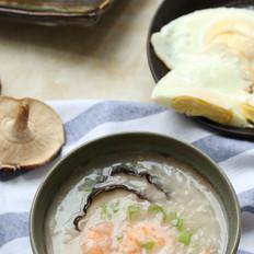 香菇虾仁粥