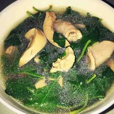枸杞叶猪杂汤