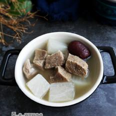 冬季养生暖身汤--羊肉萝卜汤的做法