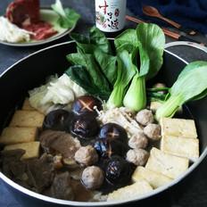 寿喜锅(日式牛肉火锅)