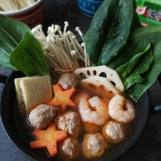 丸子蔬菜火锅