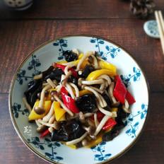 彩椒蟹味菇