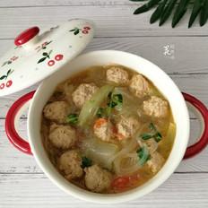 冬瓜粉丝丸子汤
