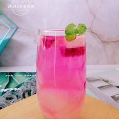 蜜桃火龙果饮