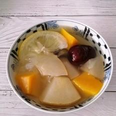 雪梨南瓜柠檬汤