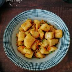 蔬菜炒馒头