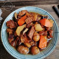 土豆板栗炖牛肉