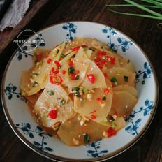 麻酱酸辣土豆片