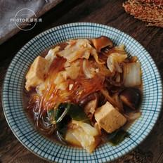 白菜粉条大锅菜