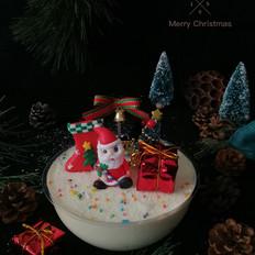 圣诞雪球蛋糕