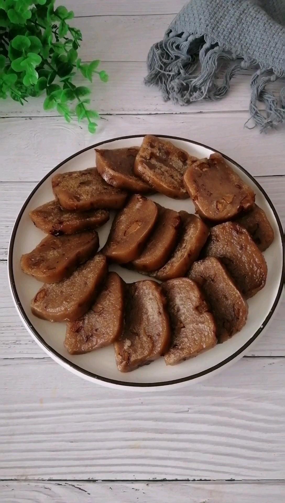 红糖红枣粘糕