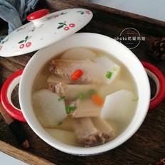 萝卜鸭翅汤