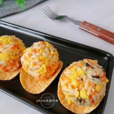 薯片海苔饭团