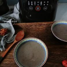 黑芝麻红豆米糊