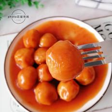 茄汁红薯丸子