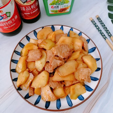 肉片炒瓠瓜