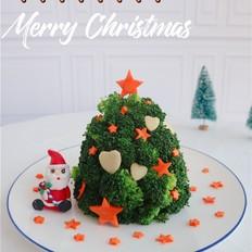 西蓝花圣诞树