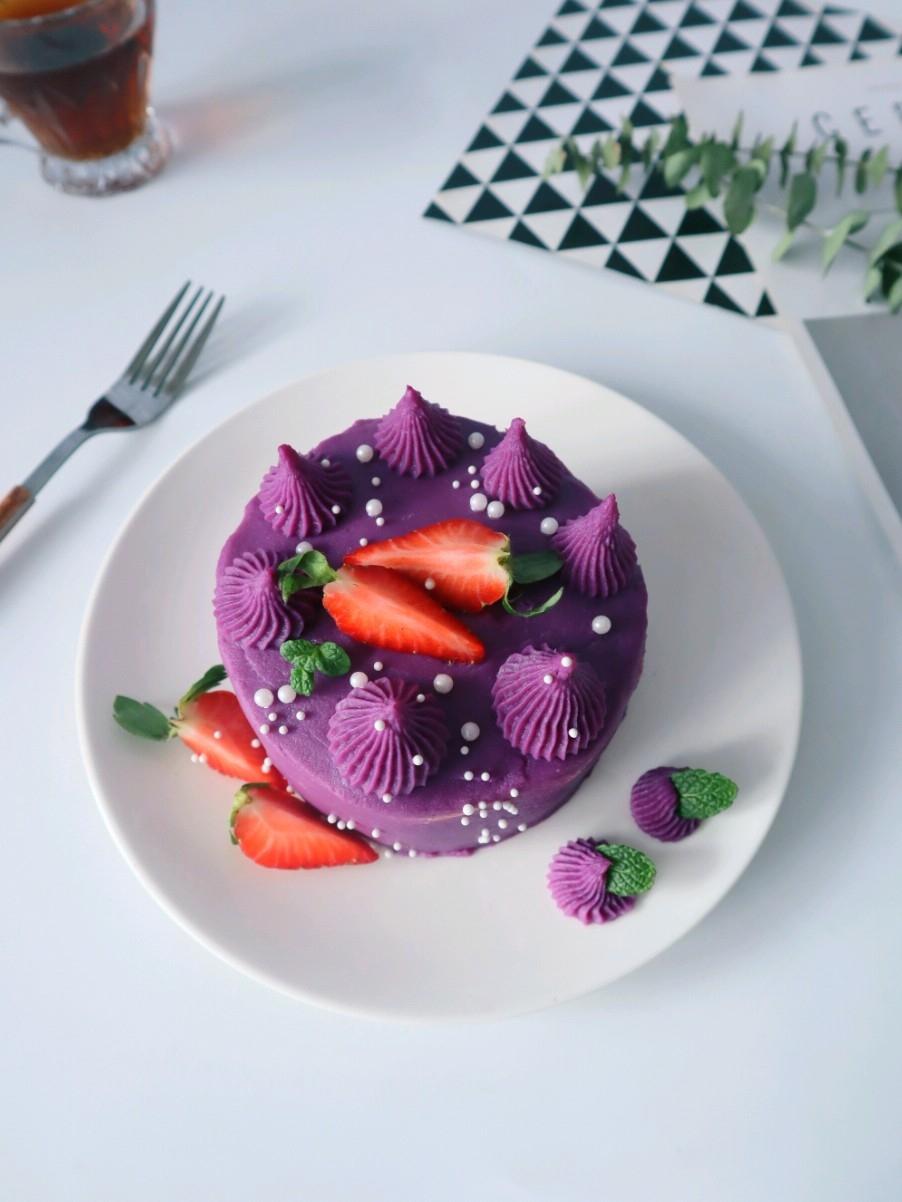 紫薯芋泥蛋糕