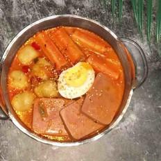 韩式泡菜锅——芝士泡面