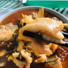 酸菜粉丝黄花鱼