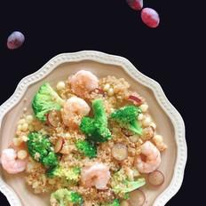 白藜麦虾仁沙拉