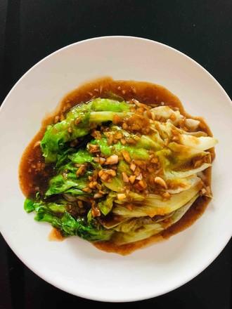夏日减肥餐-蚝油生菜的做法
