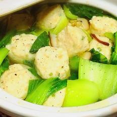 香菇青菜肉丸汤