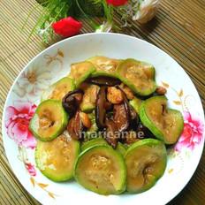 香菇炒西葫芦片
