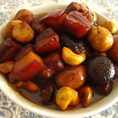 板栗香菇红烧肉