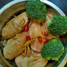 香菇土豆蒸鸡翅