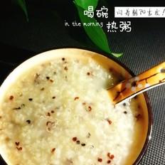三色藜麦粥