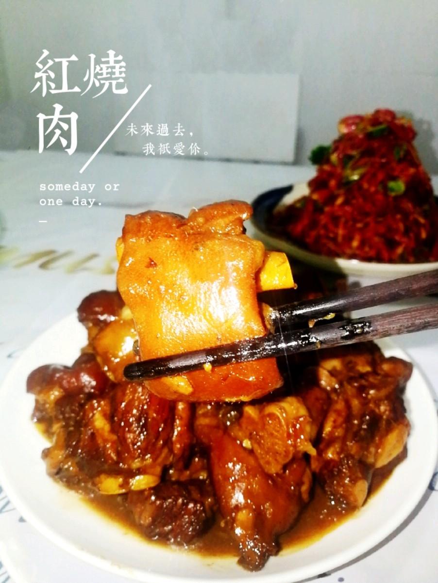红烧猪蹄排骨