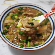 好吃的羊肉湯莜面窩窩的做法大全