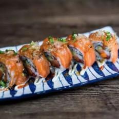 五星级大厨教你在家自制三文鱼反转寿司!