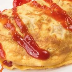 一份正宗的日式蛋包饭是怎样的