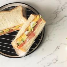 ins网红同款牛油果培根三明治,三分钟搞定一天好心情