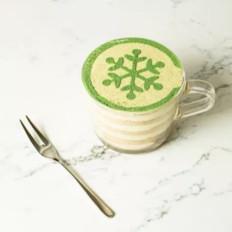 下午茶的好搭档,自制抹茶木糠杯