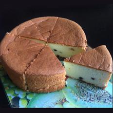 酸奶蓝莓戚风蛋糕
