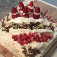 咸奶油蛋糕