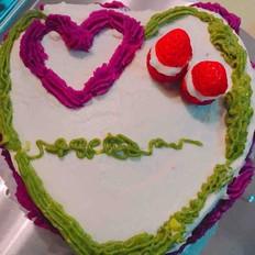 香蕉巧克力卡仕达蛋糕