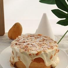 网红椰浆芝士奶盖蛋糕