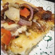 意式萨拉米香肠披萨