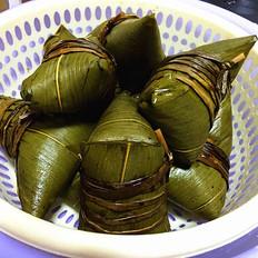 自制五香粽子