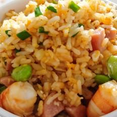 河虾火腿炒饭