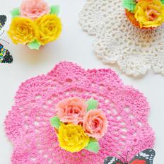 花朵蜂蜜小蛋糕