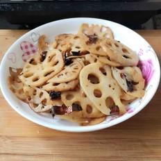 酸辣藕片(炝炒篇)