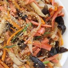 韓式炒雜菜的做法