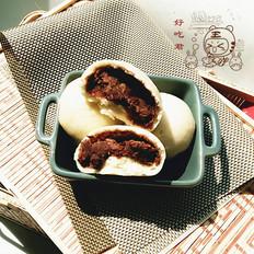 红芸豆豆包