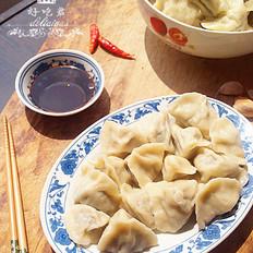 香菇韭苔猪肉水饺